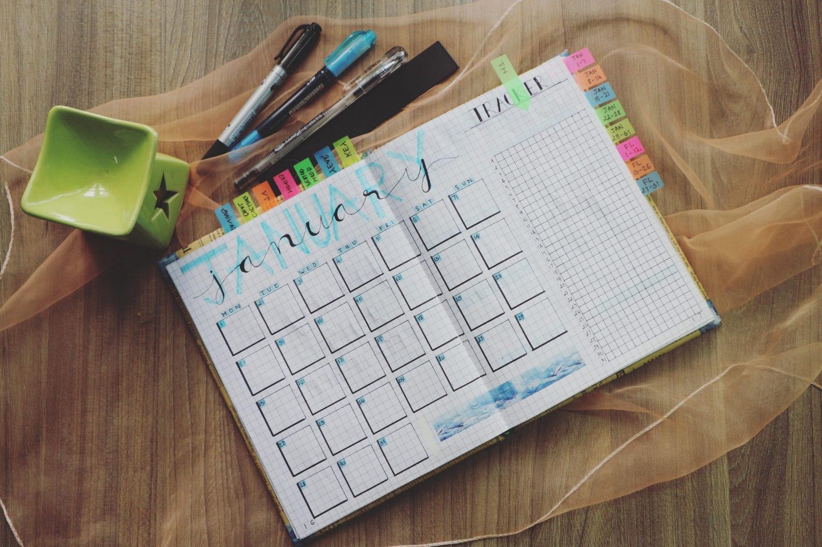 Hoe maak je een goede en overzichtelijke planning?