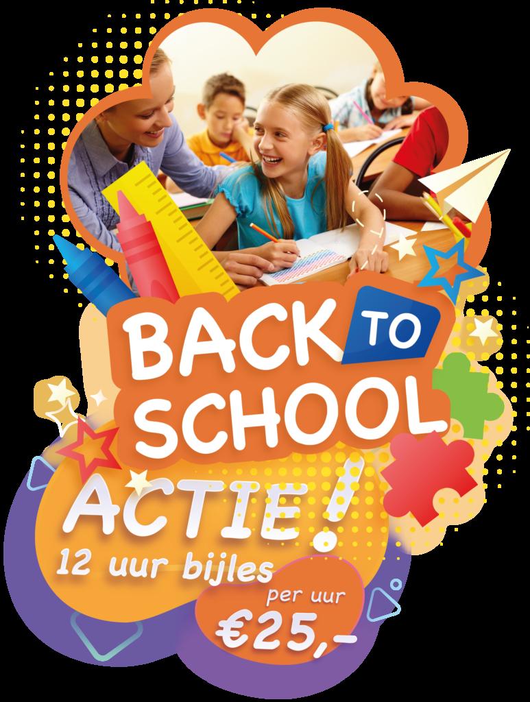 Back to School actie